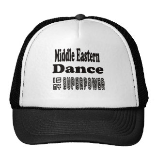 Middle eastern Dance Is My Superpower Mesh Hat
