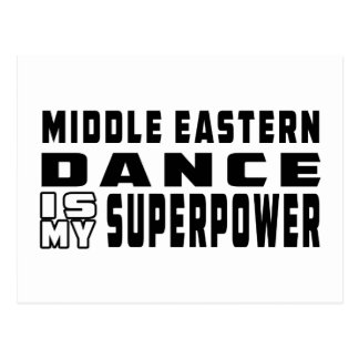 Middle eastern Dance is my superpower Postcard