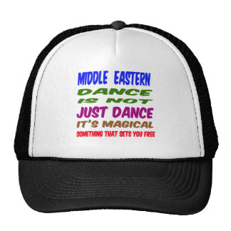 Middle eastern Dance is not just dance It's magica Hat