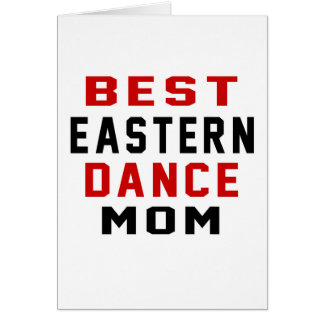 Middle eastern DANCE Mom Greeting Card