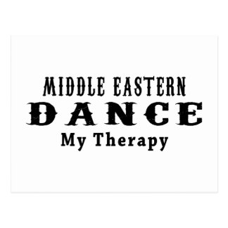 Middle Eastern Dance My Therapy Postcard