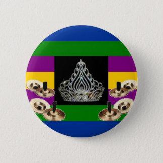 Middle-Eastern Diva Pride 6 Cm Round Badge