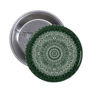 Middle Eastern Green Pattern Buttons