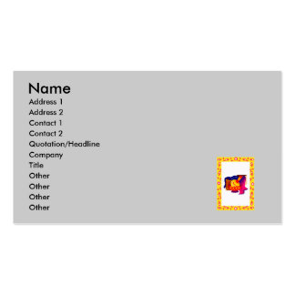 Middle eastern Products Business Card Template