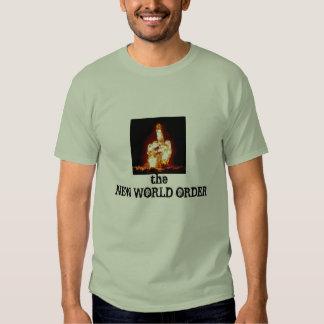 middle finger atomic cloud NEW WORLD ORDER Tshirt