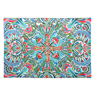 Middle of the Earth mandala Placemat