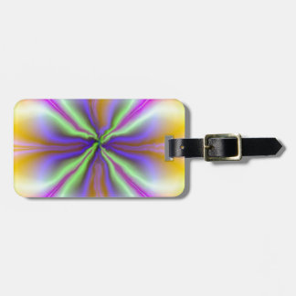 Middle of the Storm Personalized Luggage Tag