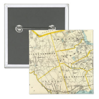 Middlesex Co S 15 Cm Square Badge