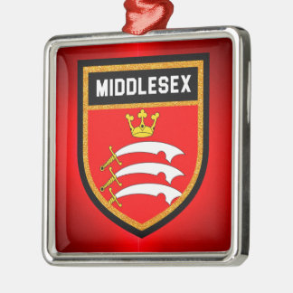 Middlesex Flag Metal Ornament