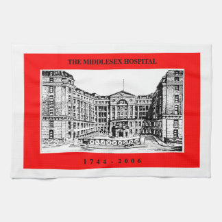 Middlesex Hospital Tea Towel