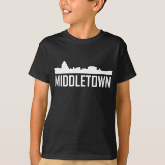 Middletown Connecticut City Skyline T-Shirt