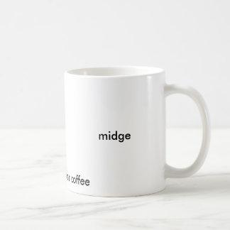 midge, good enough for coffee basic white mug
