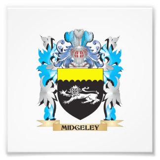 Midgeley Coat of Arms - Family Crest Photograph
