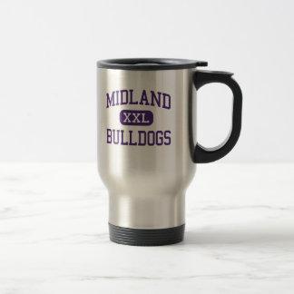 Midland - Bulldogs - High School - Midland Texas Travel Mug