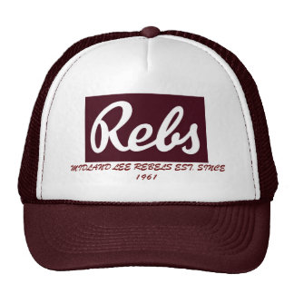 Midland Lee Rebel Football Hat