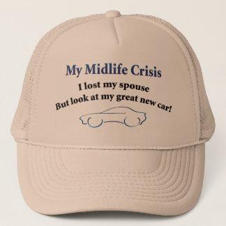 Midlife Crisis Car Trucker Hat