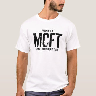 Midlife Crisis Fight Team T-Shirt