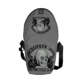 Midlife Cruisers MC custom messenger bag