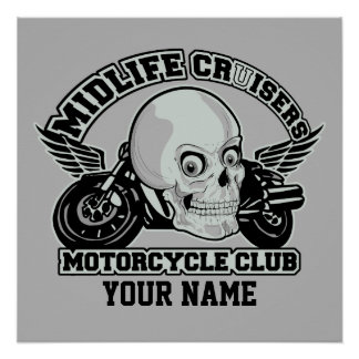 Midlife Cruisers MC custom poster