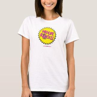 MIDLIFE ROCKS! T-shirt