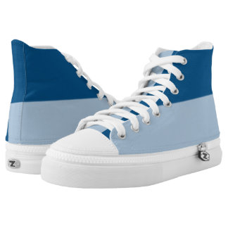 Midnight and Baby Blue Hi-Top