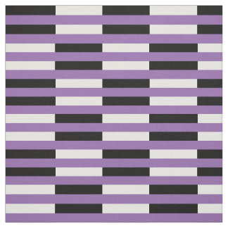 Midnight black & white stipe PNG on zazzle purple Fabric