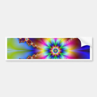 Midnight  Blossom Bumper Stickers