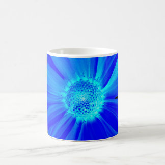 Midnight Blue Day Lily Coffee Mugs