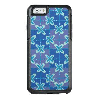 Midnight blue floral batik seamless pattern OtterBox iPhone 6/6s case
