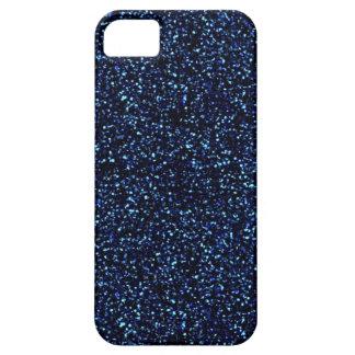 midnight blue glitter iphone 5 case
