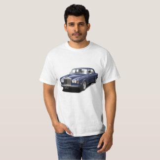 Midnight Blue Rolling Royal classic car t-shirt