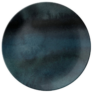 Midnight blues plate
