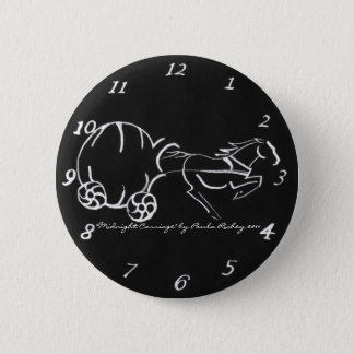 Midnight Carriage black Button