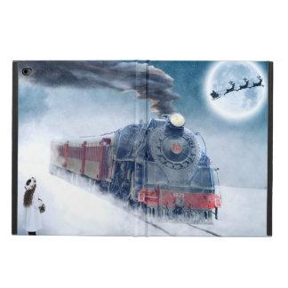 Midnight Christmas Train with Girl and Santa Powis iPad Air 2 Case