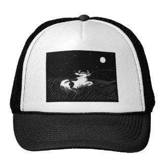 Midnight Cow Trucker Hats