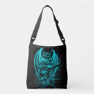 Midnight Dream - Devils in Tattoo-style Crossbody Bag