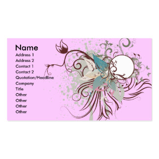 midnight elegance vector business card template