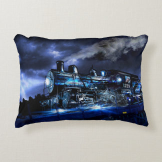 Midnight Express Decorative Cushion