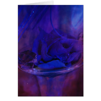 """""""Midnight Flower"""" collection Card"""