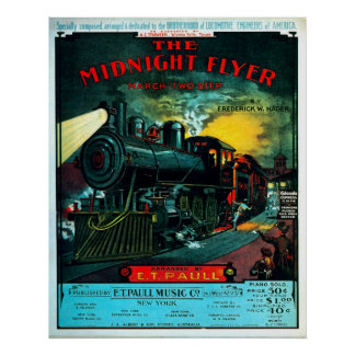 Midnight Flyer - Print