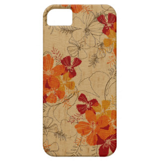 Midnight Garden Hawaiian Surfboard iPhone 5 Cases