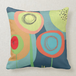 Midnight Garden - Images on both sides Cushion
