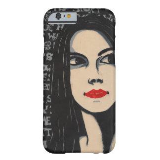 Midnight girl iPhone 6 case