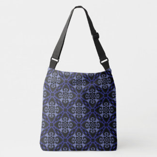 Midnight Heart Tribal Crossbody Bag