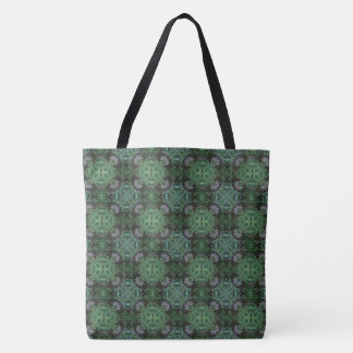 Midnight Hummingbird MandalaTote(mini-print) Tote Bag