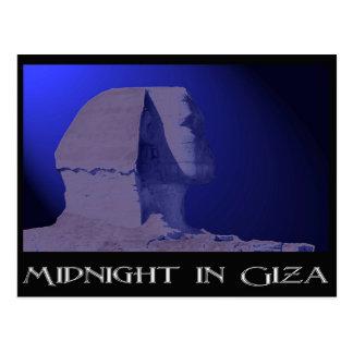 Midnight in Giza Postcard