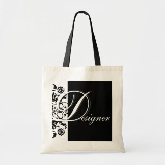 Midnight in Paris   Designer Budget Tote Bag