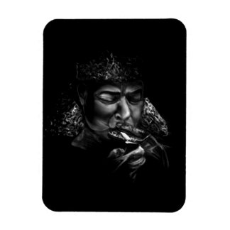 Midnight in Russia Rectangular Photo Magnet