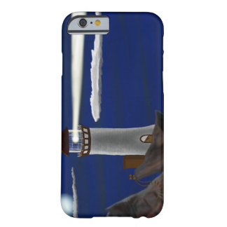 Midnight Lighthouse Landscape Barely There iPhone 6 Case