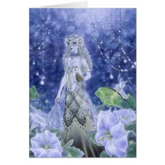 Midnight Masquerade Greeting Card